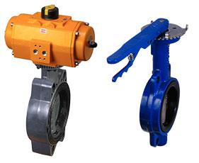 Межфланцевое присоединение трубопроводной арматуры к трубопроводу (Wafer Style), разновидность фланцевого соединения