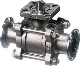 Трубопроводная арматура с присоединениями на три-клампы, клампоны, триклаверы, санитарные соединения- Tri-Clamp, Tri-Clover, T-clamp, Sanitary Clamp