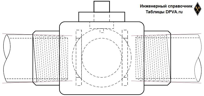 BSPT - British Standard Pipe Taper Threads - британская коническая трубная резьба. Не самая часто встречающаяся на свете, но встречается.