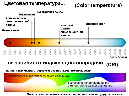 Характеристика цветов