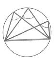 Свойства углов, связанных с окружностью. Все вписанные углы, опирающиеся на одну и ту же хорду, вершины которых лежат по одну сторону от этой хорды, равны
