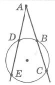 Метрические соотношения в окружности. Произведения длин отрезков секущих, проведенных из общей точки, равны