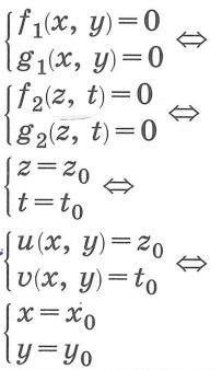 Основные методы решения систем уравнений. Метод введения новых переменных.