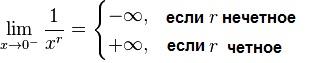 Пределы простейших функций 6 Таблица пределов функций