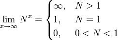 Пределы при стремлении переменной к бесконечности 4. Таблица пределов функций