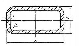 Труба профильная - труба прямоугольная. Размеры и вес.