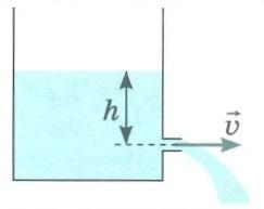 Гидромеханика и аэромеханика. Формула Торричелли