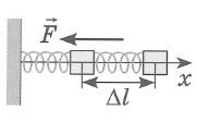 Закон Гука. При упругой деформации растяжения (или сжатия) модуль силы упругости прямо пропорционален абсолютному значению изменения длины тела
