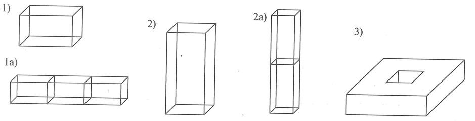 Выбор типа системы отопления в зависимости от типа и вида здания. Виды зданиий: 1 - здание высотой 5-9 этажей, аналогичное обычной секции жилого дома; 1а - многосекционное здание состоящее из секций вида 1; 2 - дом-башня, высотой 9-25 этажей; 2а - высотный дом-башня до 100 этажей; 3 - малоэтажный плоский дом, высотой до 4-5 этажей